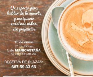 Segundo Death Cafe Almería, el 15 de enero en Maricastaña